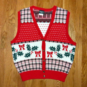 Christmas Sweater Vest - Ugly or Festive??